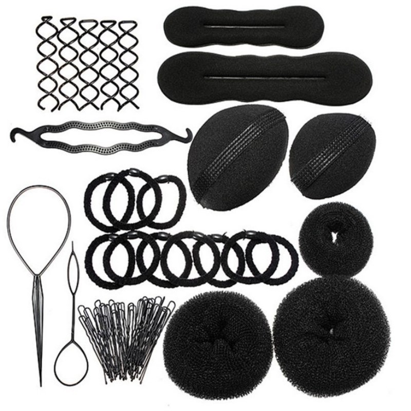 Roller With Hook Magic Twist Styling Braiding Tool Bun Maker Free Shipping