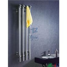 2018 по вертикали Ванная комната с подогревом Полотенца Rail Нержавеющаясталь 304 настенный Электрический Полотенца теплые HZ-932A