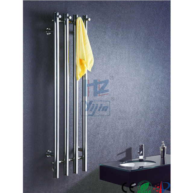 vertical bathroom heated towel racks rail stainless steel electric towel warmer hz932