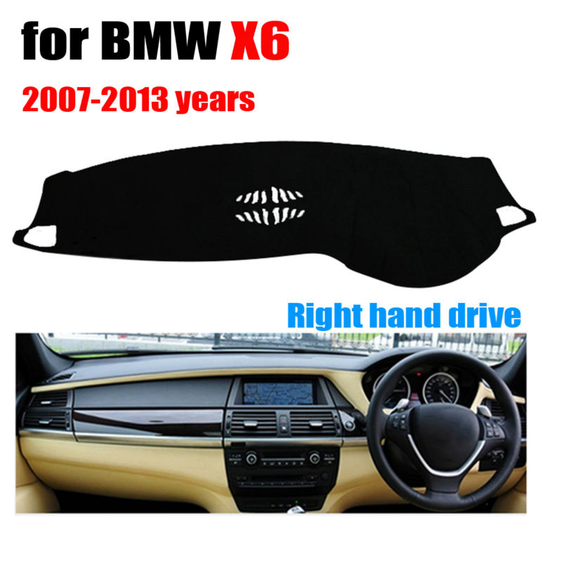 font b Car b font dashboard covers for BMW X6 Low configuration 2007 2013 Right