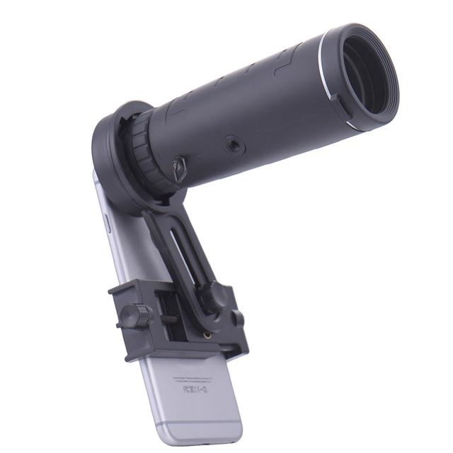 Universal 10x40 Senderismo Concierto Monocular Monocular telescopio Lente de La Cámara para el teléfono Para Smartphone