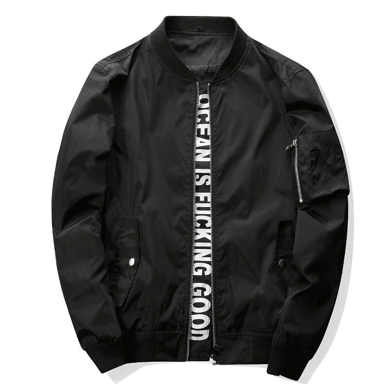 Men's Hip Hop Streetwear Windbreaker Jacket Men/women Bomber Jackets Military Coats Yokosuka Outerwear Jaqueta Masculina ,GA366