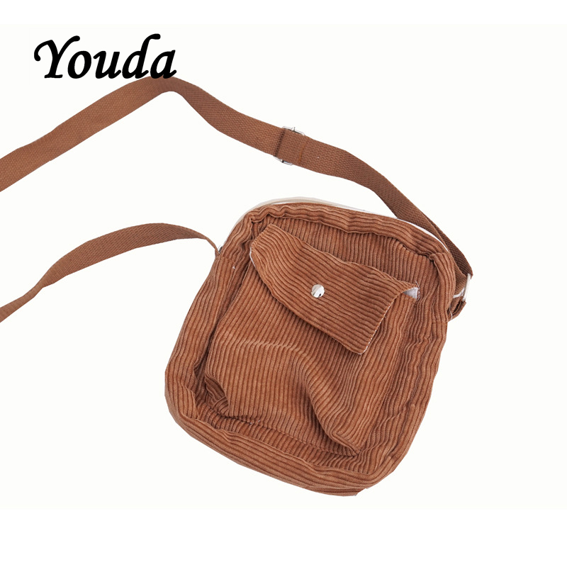 Youda Square Bags Totes Shoulder-Pouch Mobile-Phone-Bag Small Preppy-Style Mini Winter