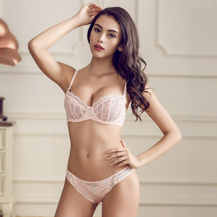 Aliexpresscom  Buy French Women Underwear Lingerie Pink -2728