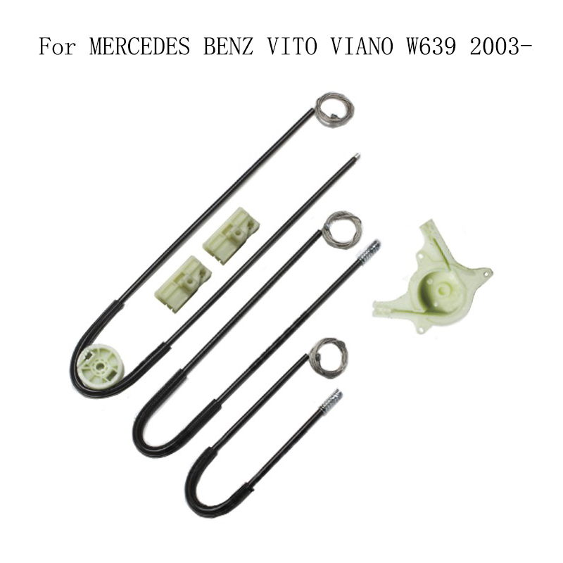 For MERCEDES BENZ VITO VIANO W639 2003- Power Electric Car Window Regulator Window Lifter Repair Kit Set Front Right