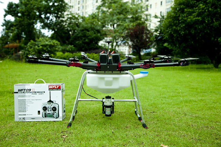 Uninhabited Machine 8axis 5kg Agricultural Spraying UAV RC font b drone b font empty Carbon Fiber
