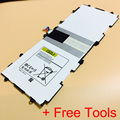 Batería de alta calidad para samsung galaxy tab 3 10.1 p5200 t4500e baterai p5210 tablet pc de copia de seguridad samsung piezas de reparación + herramientas