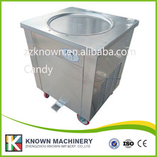 ice cream roll machine with import compressor single pan ice pan ice cream roll machine