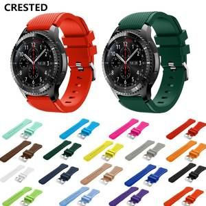 Watch-Band Active-Strap Gear Correa 42mm Samsung Galaxy Gt 22mm for 46mm 20 Huawei