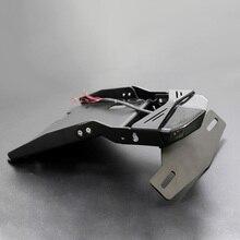 Мотоцикл хвост крепление номерного знака Кронштейн Тормозная лампа для заднего освещения для BMW R NINE T- R9T