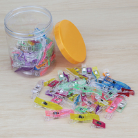 Clover Wonder Clips Quilt Tools Patchwork Sewing Accessory 100pcs With Box 75 Small 25 Large