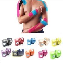 Kinesiology Tape Adhesive Sports Muscle Tapes kinesiologica Elastic Bandage Kinesiologico Teip Kinesiotape Cinta Muscle Sticker недорго, оригинальная цена