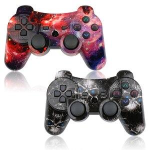 Image 3 - Беспроводной Bluetooth игровой контроллер K ISHAKO для PS3, джойстик, Вибрационный пульт дистанционного управления для консоли playstation 3, геймпад для ps2