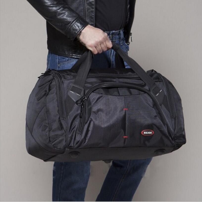 1680D Ткань Оксфорд попадания воды спортивная сумка мужская сумки многофункциональный плеча сумки для путешествий на открытом воздухе или тр...