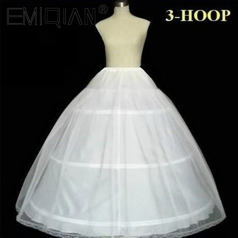 100% Satisfaction Quality Guaranteed 3 Hoops Bone Elastic Waist Full Crinoline Petticoats Underskirt