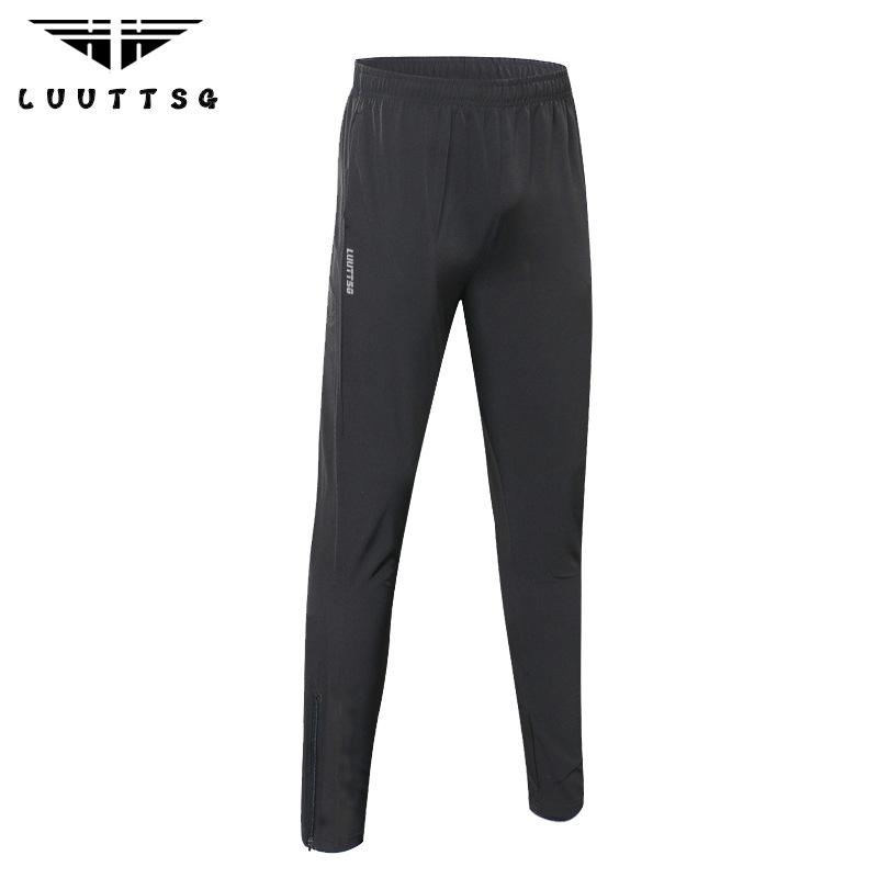 Running Pants for Men Fitness Sports Gym Sweatpants Training Jogging Exercise Slim Fit Trousers Full Length Sport Trousers in Running Pants from Sports Entertainment