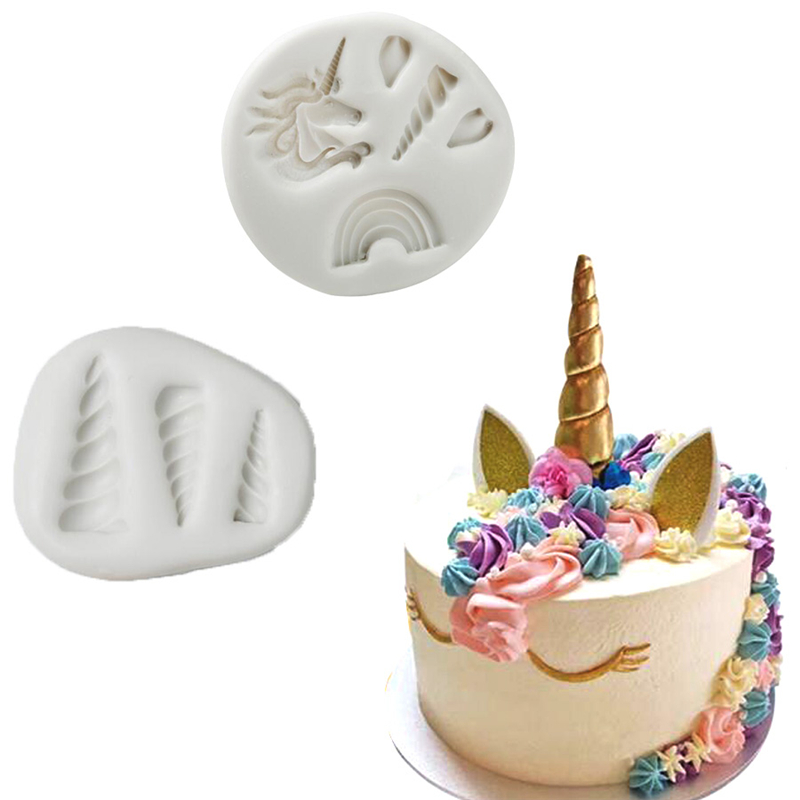 Detail Feedback Questions About Unicorn Shaped Silicone Cake Mold Sugar Craft Kitchen Pastry Tool Candy Fondant Decoration Baking On
