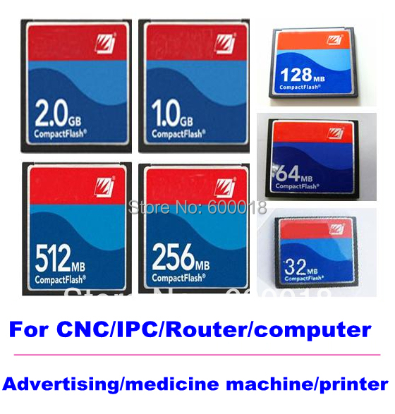 for CNC IPC ROUTER PRINTER COMPUTER MEDICINE Industrial Compact Flash CF 128MB 256MB 512MB 1GB 2GB