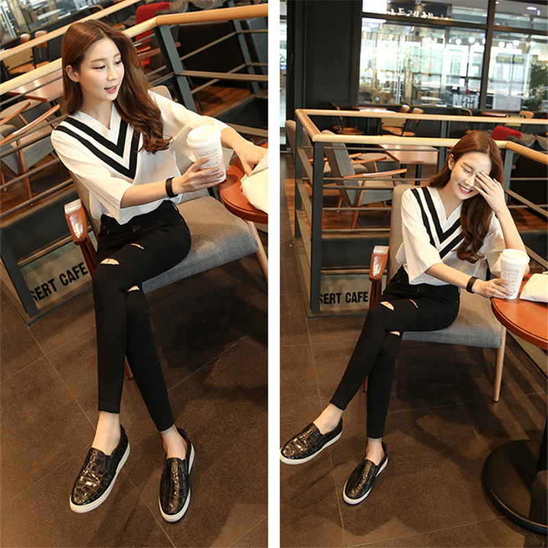 2019 Jeans Female Denim Pants Black Color Womens Jeans Donna Stretch Bottoms Feminino Skinny Pants For Women Trousers Free Ship Price $32.56