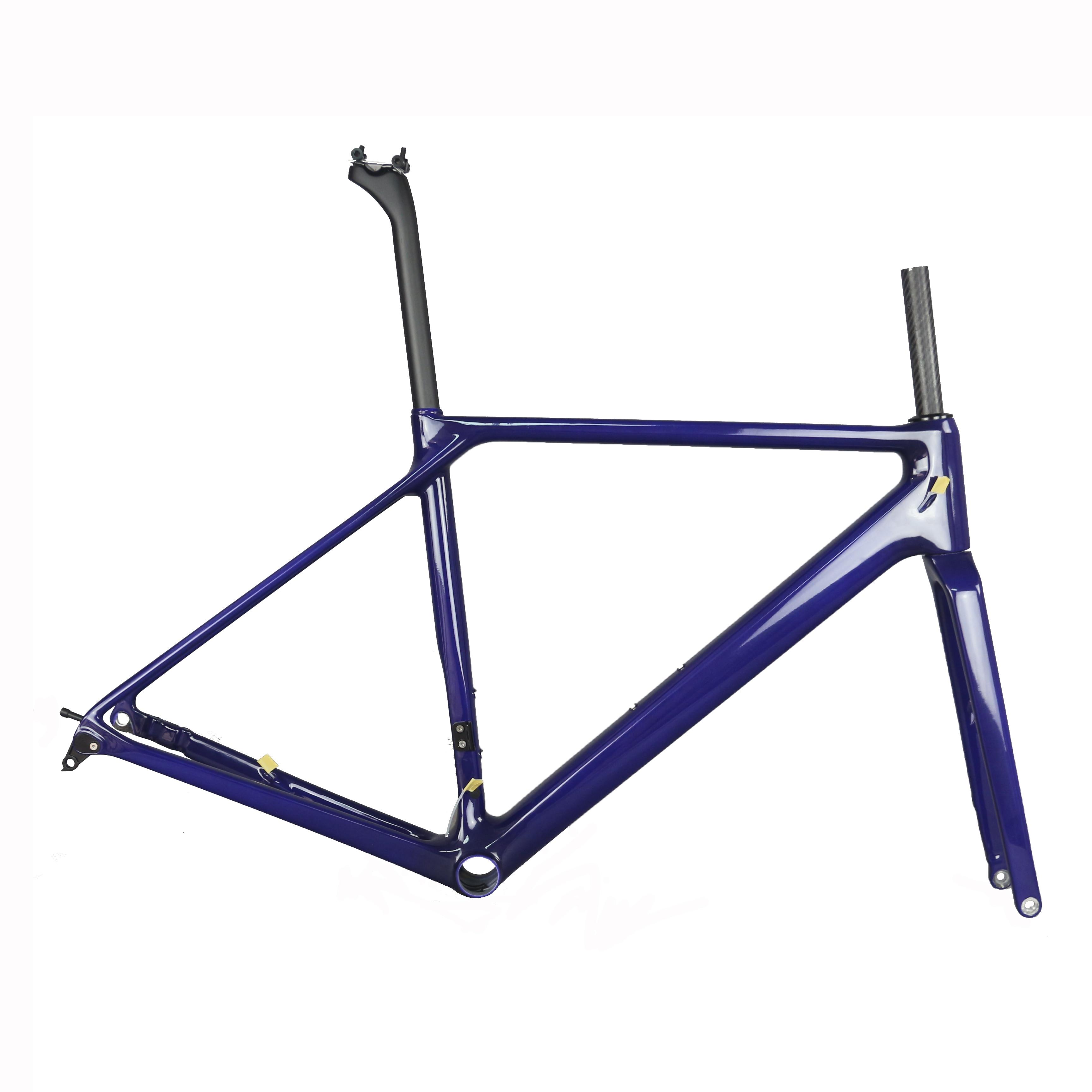 2019 New FM009 Flat Mount Disc Brake Road Bike Frame (new EPS Technology) Di2 Can Be Fixed Frame Custom Paint