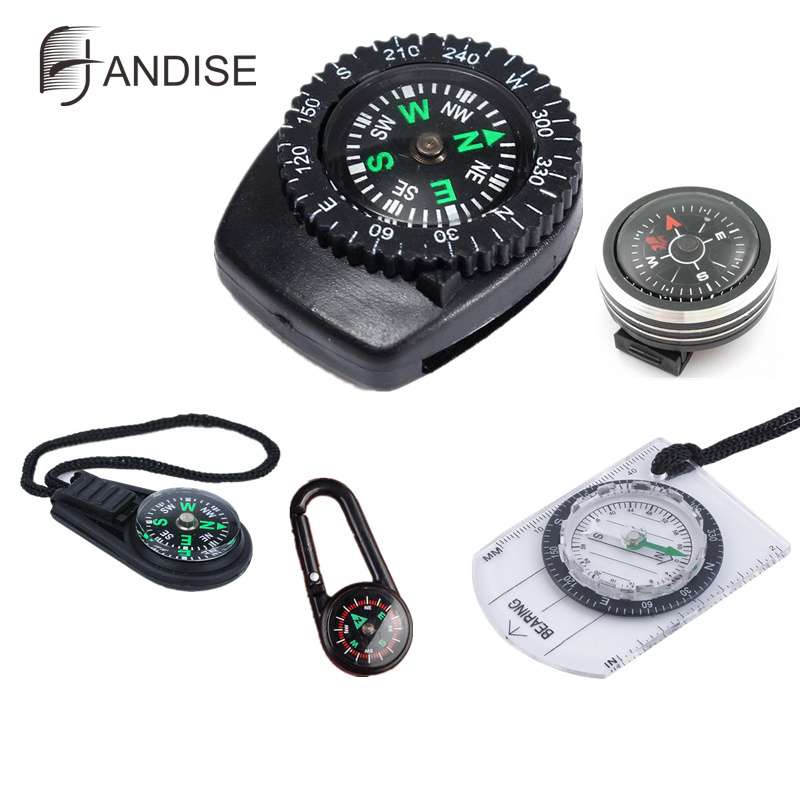Belt Buckle Mini Compass for Paracord Bracelet Outdoor Camping Hiking Travel Emergency Survival Navigation Tool mini kompas sleutelhanger