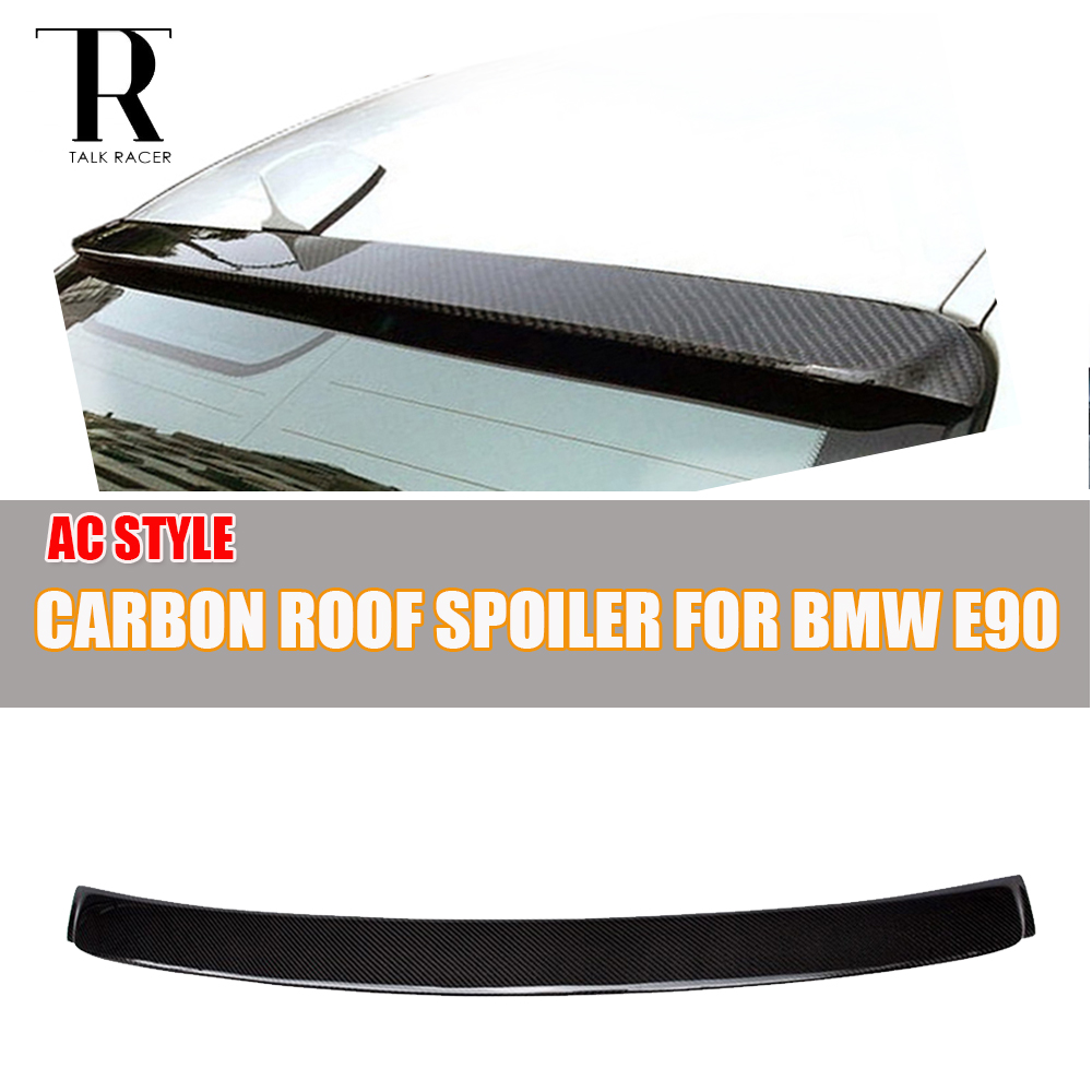 E90 AC Style Carbon Fiber Rear Roof Spoiler for BMW E90 320i 325i 330i 335i 320d 325d 330d 335d 2005 - 2011 всесезонная шина yokohama geolandar a t s g012 225 55 r18 98h