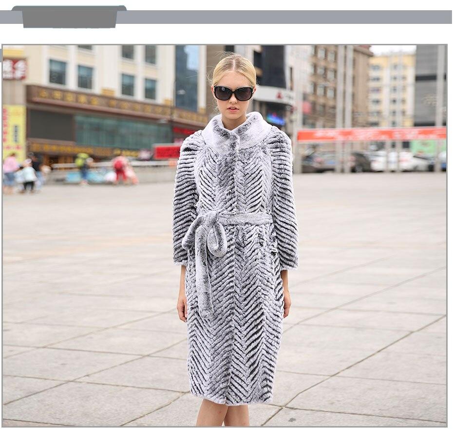 di cappotti pelliccia con Jepluda Moda lunghi d'inverno qtUpBxAFw
