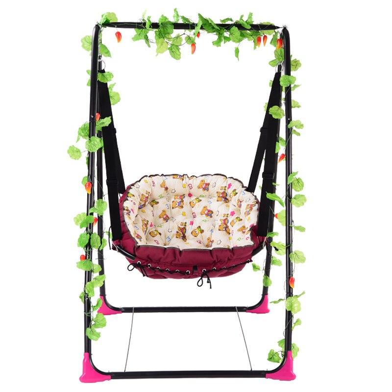 Bébé balance balancelle intérieur bébé chaise adulte extérieur hamac balcon bébé chaise à bascule ménage enfant chaise utiliser toute la vie
