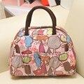 2016 New Fashion Handbag Thermal Bag for Women Waterproof Printed Lunch Bag For Kids Bolsa Termica Picnic Lunch Box