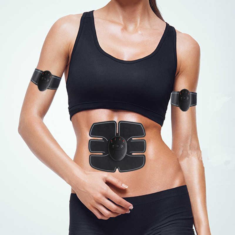 Массажер для похудения и тела, стимулятор для тренировки мышц живота, устройство, беспроводной ABS пояс для домашнего спортзала, профессионального фитнеса, домашнего массажа
