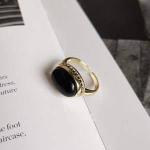 Image 5 - LouLeur 925 סטרלינג כסף מקורי שחור אגת פתוח טבעות זהב טמפרמנט אלגנטי עיצוב טבעות לנשים פסטיבל תכשיטים