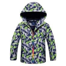 2019 Spring Autumn Children jacket Polar Fleece Outerwear Sport Coats Kids Clothes Waterproof Windbreaker For Boys Jackets недорого