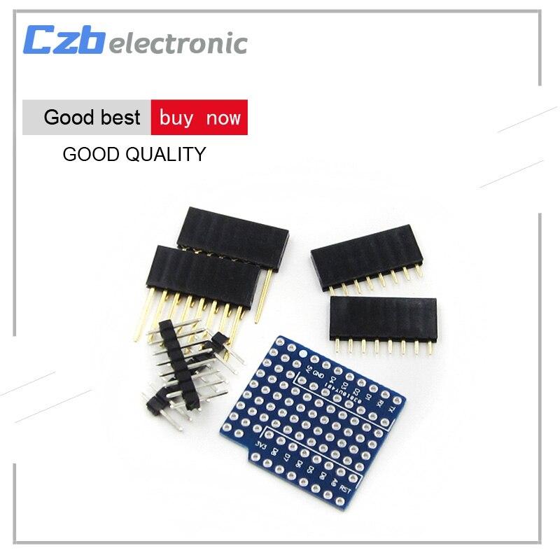 Unterhaltungselektronik 1 Stücke Protoboard Schild Für Wemos D1 Mini Doppelseitige Perf Extension Board Kompatibel Für Arduino Diversifiziert In Der Verpackung Heimautomatisierungs-sets