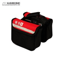 JUH 1pcs Bicycle Bag Outdoor Cycling Sport Carry Bags Bicycle Tube Saddle Car Bag Mountain Bicycle Bags Panniers Double Side