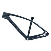 2017 FCFB mtb bike frame carbon mountain carbon frame 27.5er*15.5 17inch carbon handlebar seatpost stem saddle ems shippin