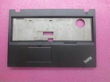 цена на New Original for Lenovo ThinkPad T550 W550S Palmrest Keyboard Bezel Cover Upper Case with Touchpad + Fingerprint FRU 00NY459