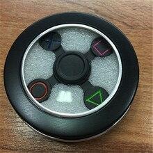 1pcs metal Fidget Spinner PlayStation PS Controller Zinc alloy Finger Spinner Hand Spinner Anti Relieve Stress