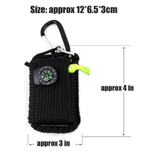 Outdoor EDC Paracord Survival Kit 29 in 1