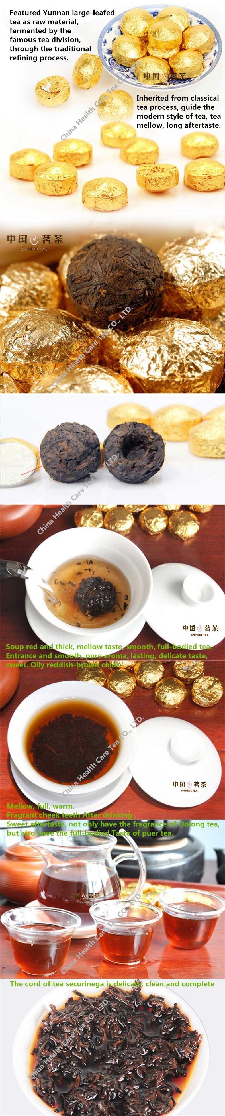 15 Pcs PuEr Tea High Quality Chinese Yunnan Pu'Er Tea Mini Pu Er Tuocha puerh tea lose weight Organic Green Food
