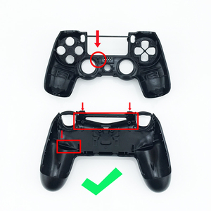 Image 5 - Gloss Controller Shell For Play Station 4 Cover Price Games Replacement Original Wireless Custom For PS4 Housing