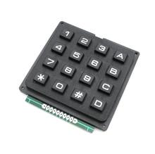 CFSUNBIRD 4 X 4 Matrix Keyboard Keypad Module with 16 Keys 4 * 4 Plastic Keys Switch for Arduino Controller