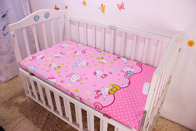 New Brand! Cartoon Baby sheet. Baby bedding.100% cotton Cartoon Sets, fitted sheet,120*60/120*70cm image