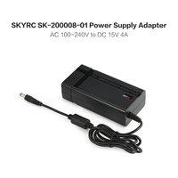 SKYRC Power Supply Adapter for RC Drone AC/DC 15V 4A 60W RC Quadcopter Toys Battery Balance Charger IMAX B6 IMAX B6 MINI EU Plug