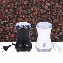 2017 Electric Coffee Gewürzmühle Maker mit Edelstahl Klingen bohnen Nüsse Mühle Cafe 220 V EU Mühlen Lebensmittelqualität Kunststoff mühle