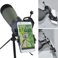 Universal Cell Phone Adapter Mount Compatible with Binocular Monocular Spotting Scope Telescope and Microscope