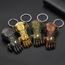 Avengers Metal Marvel Captain America Shield Keychain Spider Man Iron Man Mask Keychain Toys Hulk Batman Keyring Key Gift Toys E(China)