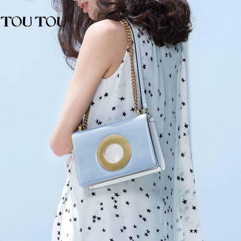 TT060 Chains Flap Women Crossbody Bag Zipper Hasp Shoulder Bag good Leather Messenger Bag Small Ladies High Quality Female Bags 6mbi100l 060 good use of quality assured