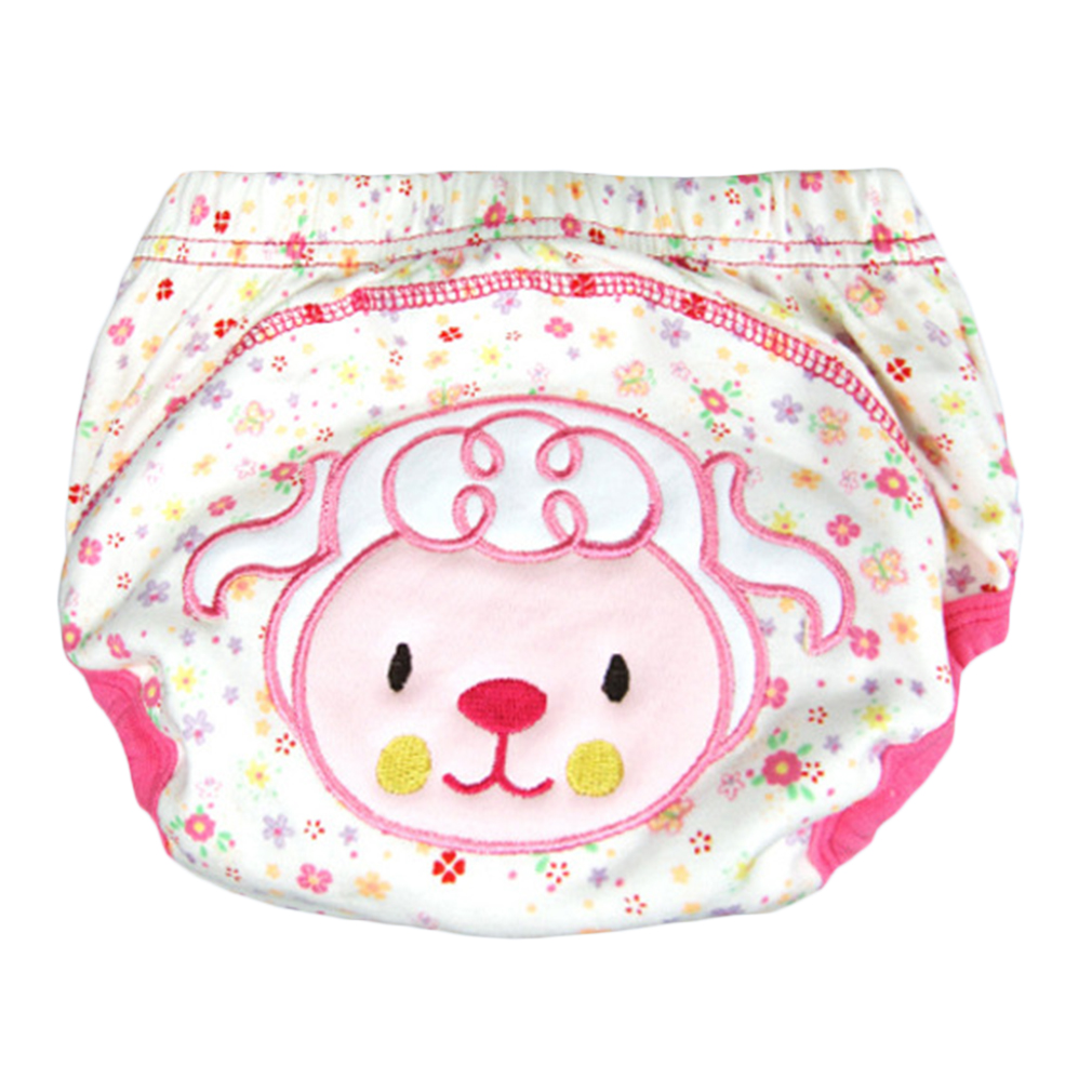 Hot! Boys Girls Babies Breathable Washable Cloth Wrap Diaper Underwear Pant 5patterns S/M/L For Choice New Sale