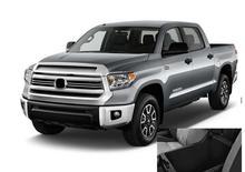 JanDeNing для 1x Автомобиль Центральной Консоли Подлокотник Коробка для хранения + резиновый коврик для Toyota Tundra 2014-2017