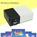 Мини 1080 P Full HD LED LCD Проектор Для Домашнего Кинотеатра AV HDMI Мультимедиа Черный ЕС APE